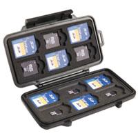 pelican hard camera memory sd card case l